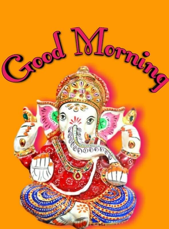 good morning ganesh photo1